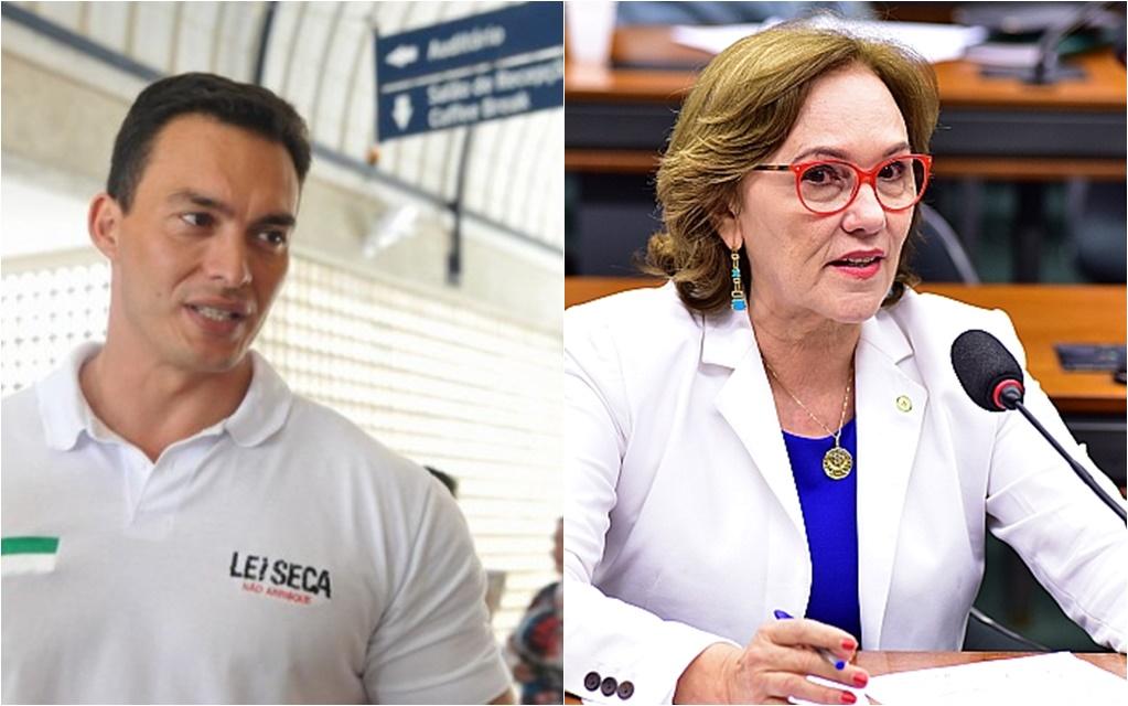 capitão styvenson e zenaide maia senadores do rio grande do norte RN 2018