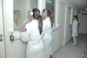 Alunas do Curso de Fonoaudiologia UFRN