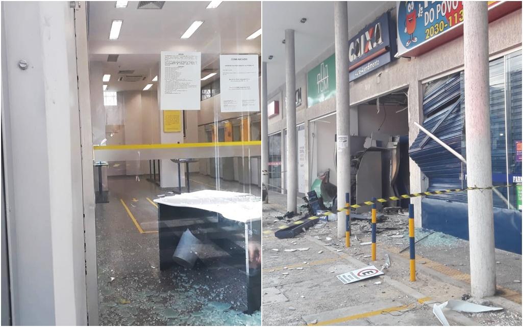 Banco do Brasil e Caixa Econômica são alvos de invasão e explosões em Natal