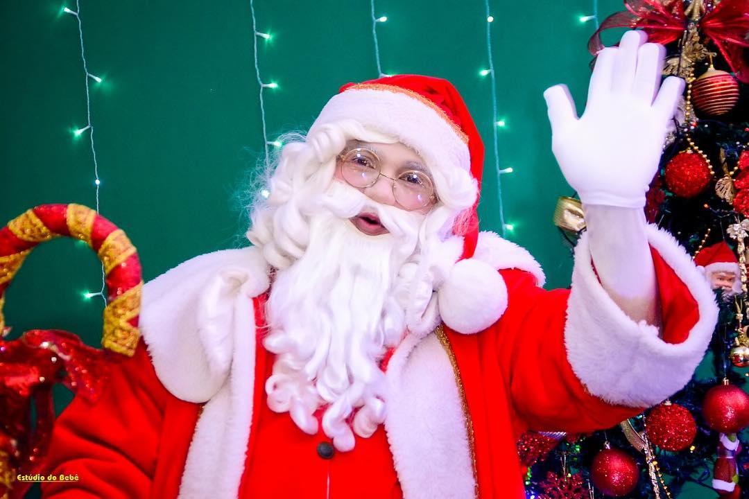 Papai Noel chega ao Shopping Cidade Jardim nesta quarta-feira (21)