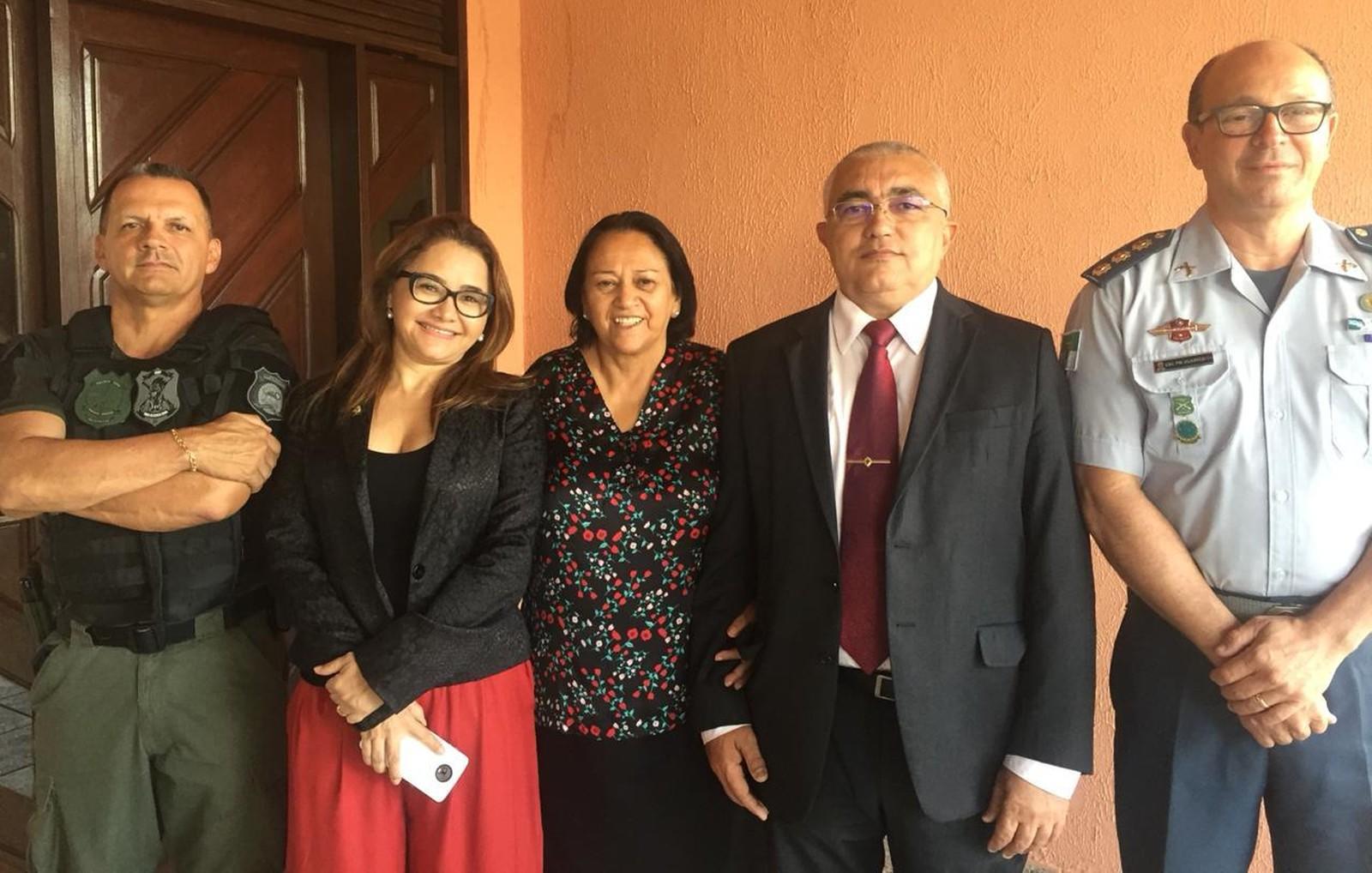 Fátima Bezerra anuncia nomes para Segurança Pública do RN