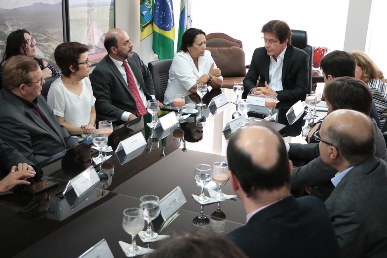 Governo inicia transição para a gestão de Fátima Bezerra Foto Rayane Mainara