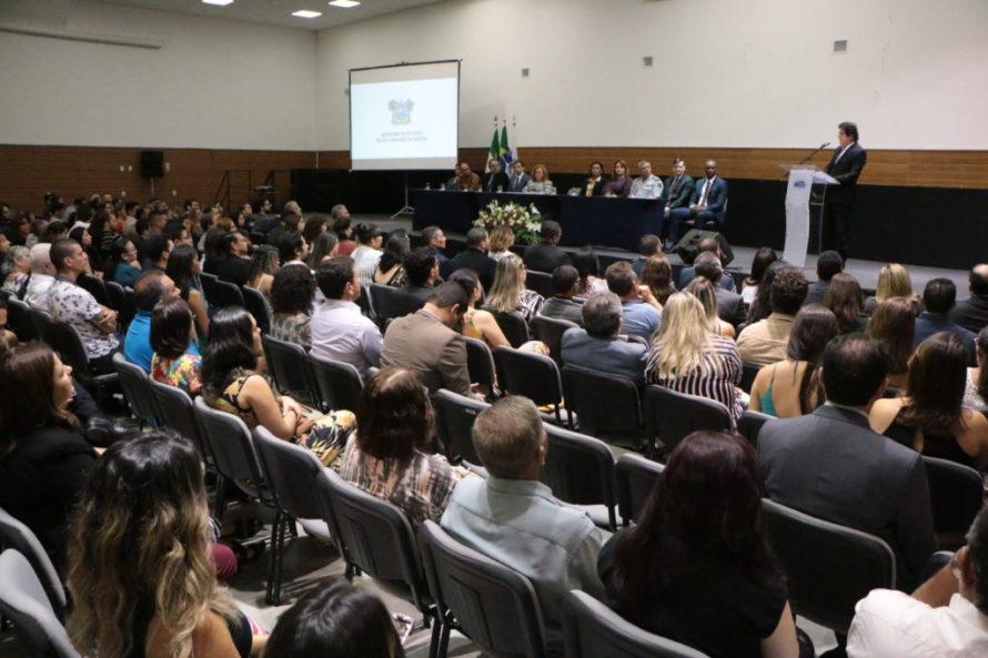Governo do RN dá posse aos 164 novos servidores do ITEP