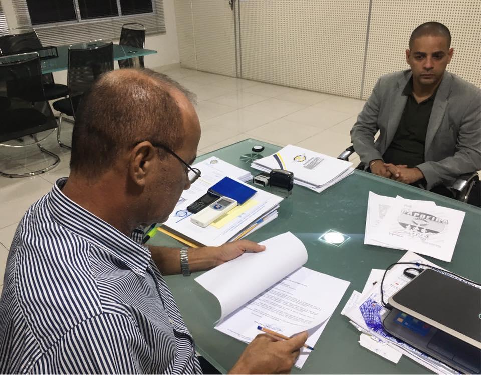 Prefeito assina projeto de lei que cria a Guarda Municipal de Parnamirim concurso público 2019