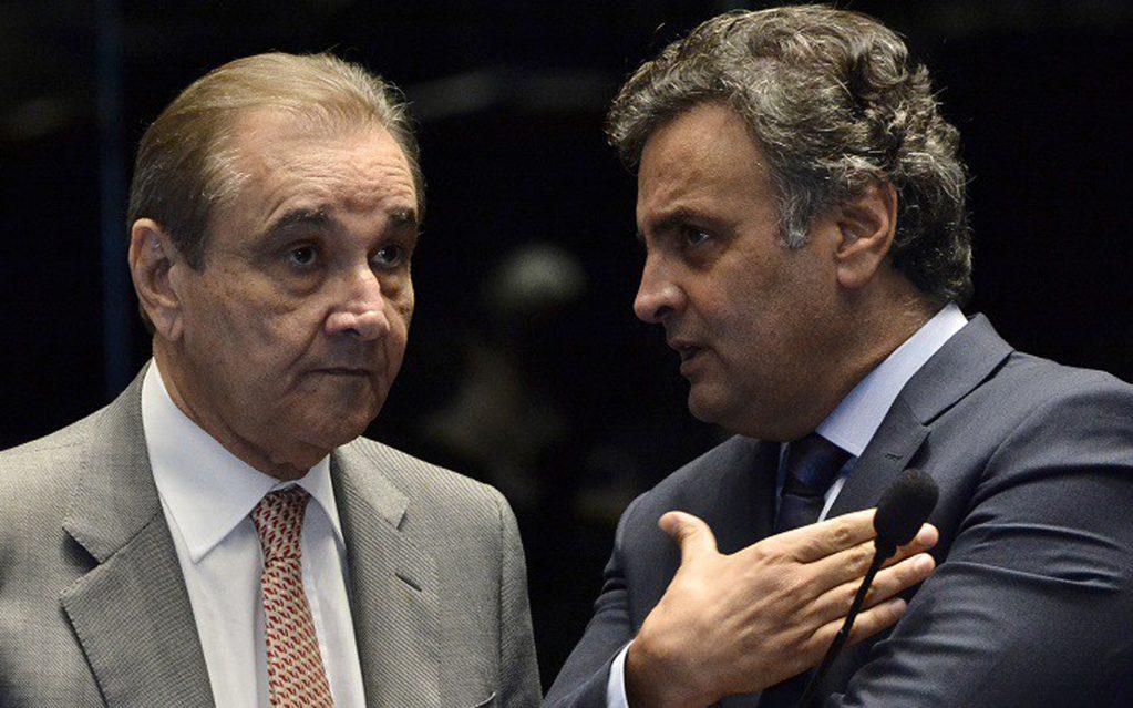 Aécio Neves e José Agripino na mira de nova operação da Polícia Federal