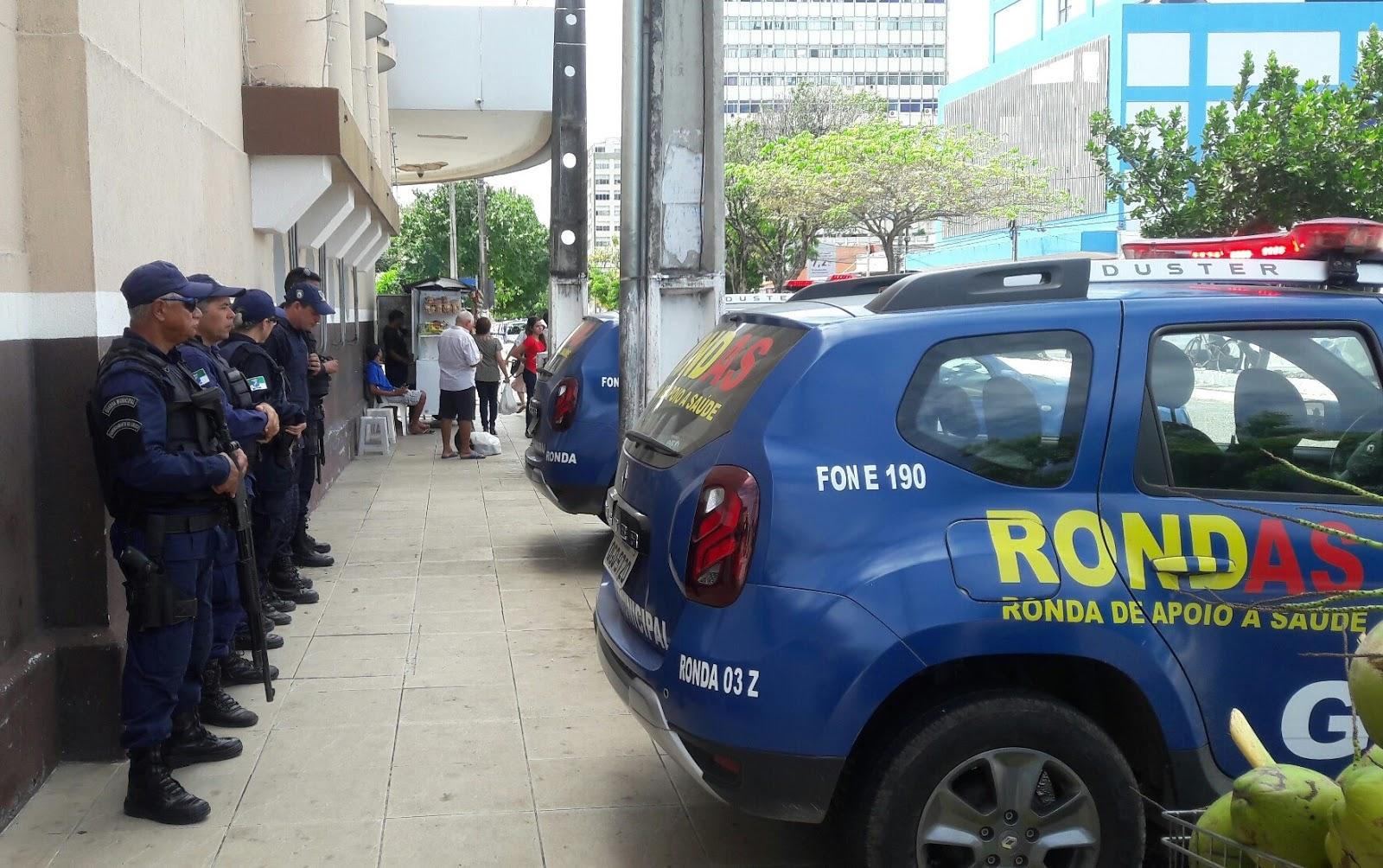 Guarda Municipal evita roubo em lanchonete e prende suspeito na Cidade Alta