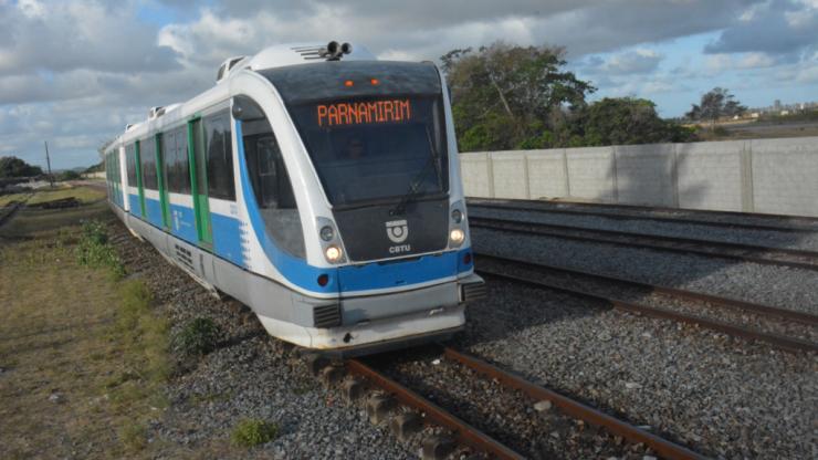 CBTU fará seis reajustes nas passagens de trem na Grande Natal