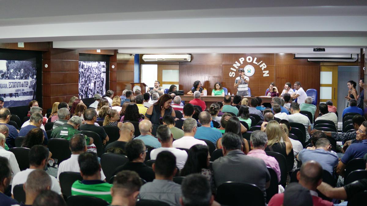 Policiais Civis e Servidores da Sesed decidem paralisar atividades no RN