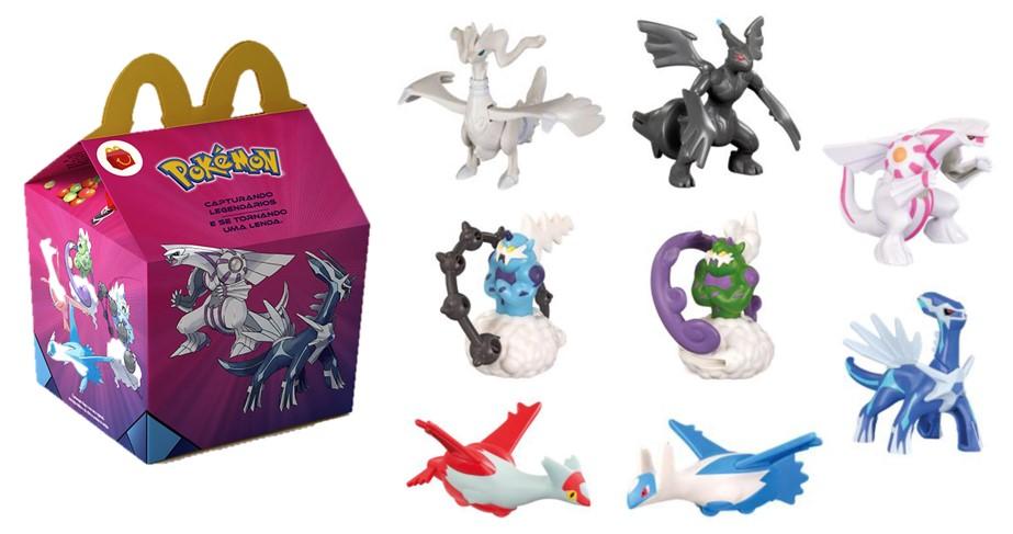 Turma do Pokémon chega ao McDonald's em dezembro