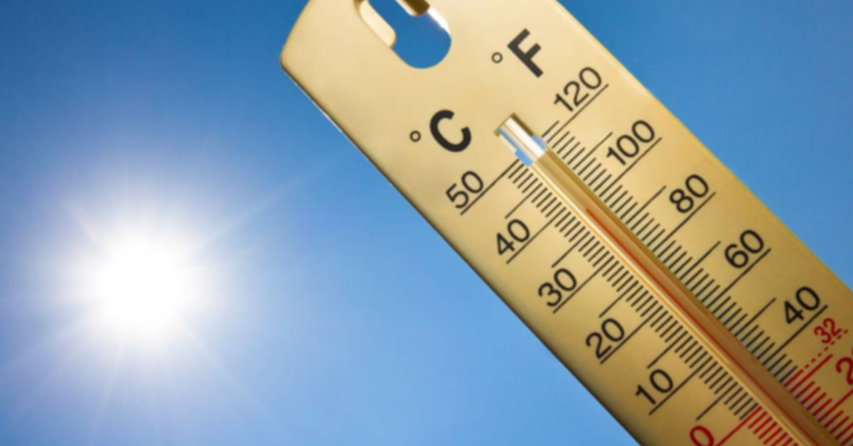verão temperatura no RN