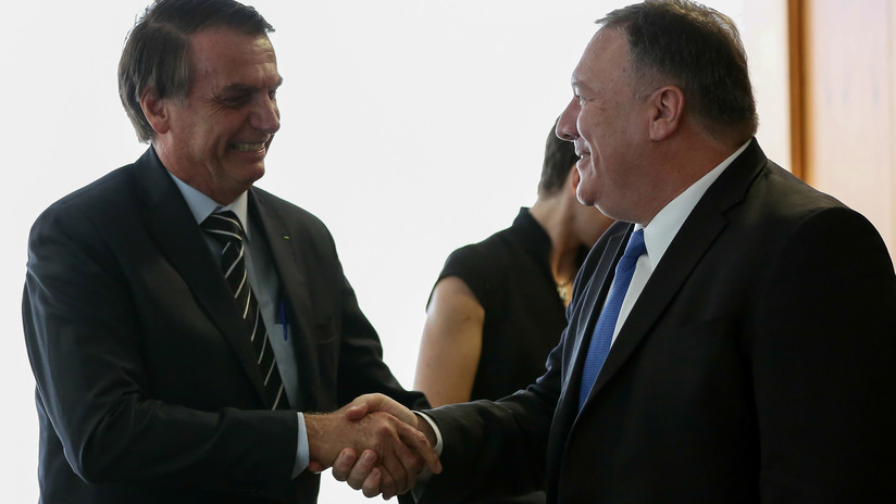 Bolsonaro não descarta a possibilidade de abrir uma base militar dos EUA no Brasil