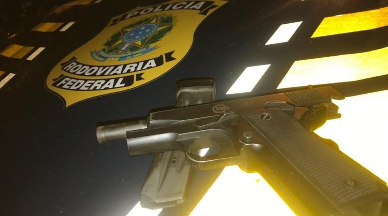 """Homem é detido no RN portando pistola quando tinha apenas o direito de """"posse"""""""