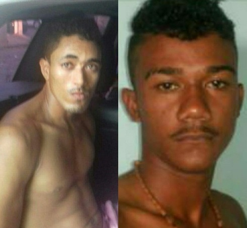 José Kleiton da Costa Pereira vulgo Zé e João Paulo Silva de Lima vulgo Pindoba Polícia Civil pede ajuda da população para localizar suspeitos de homicídio