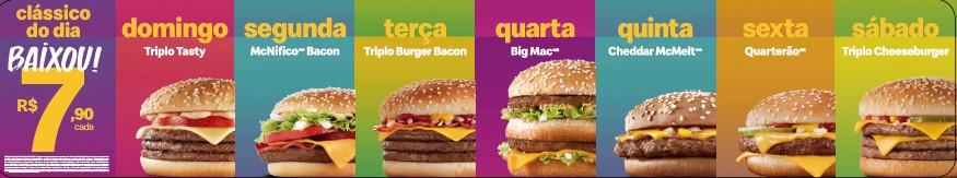 McDonald's reduz preço dos Clássicos do Dia