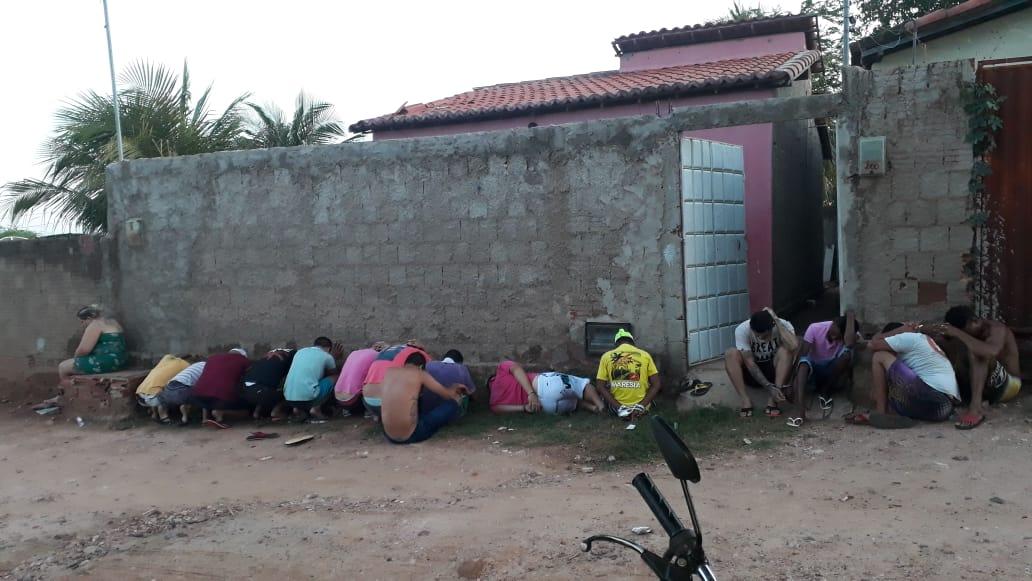 Operação resulta na prisão de 21 integrantes de facção criminosa em Pau dos Ferros