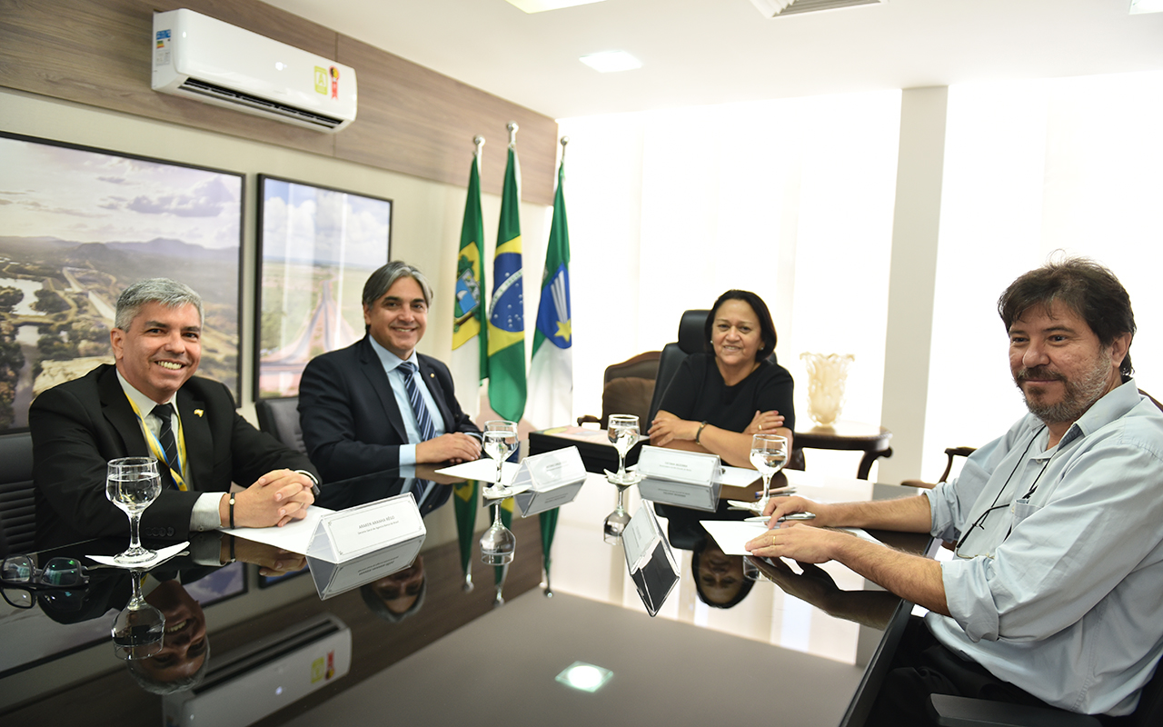 Reunião com superintendente do BB trata da antecipação de royalties para o RN