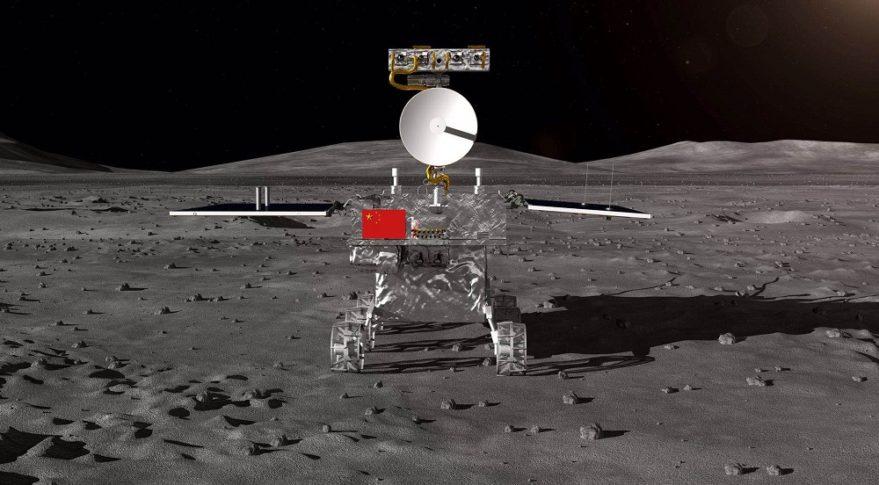 Sonda chinesa faz 1º pouso na face oculta da Lua