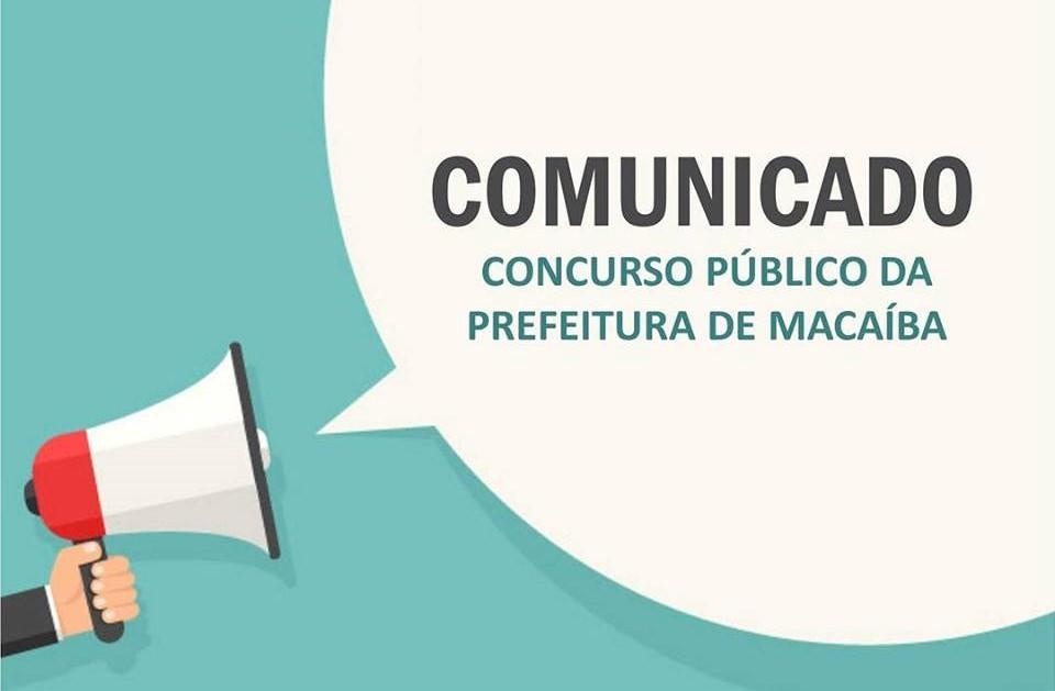 Defensoria Pública e Prefeitura emitem comunicado sobre suspensão do concurso de Macaíba
