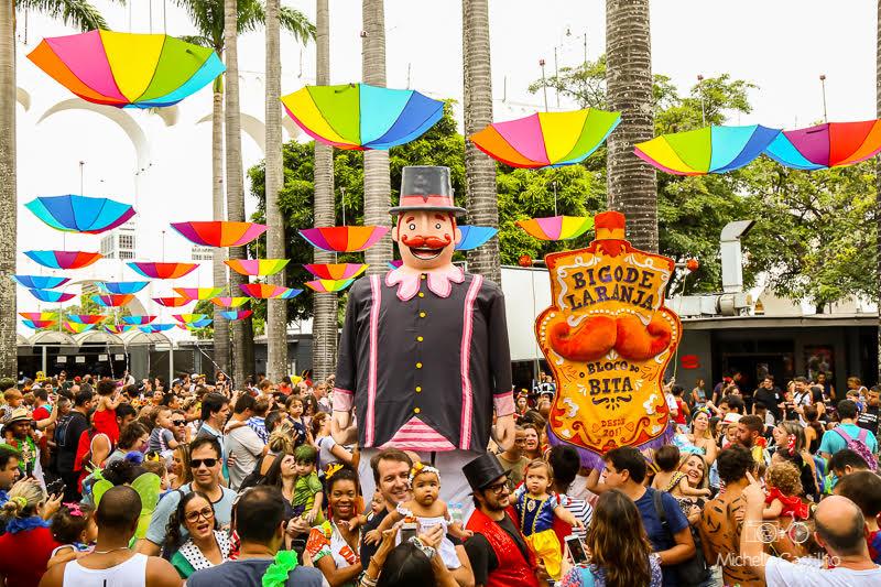 Bloco do Bita anima o carnaval da criançada no Teatro Riachuelo