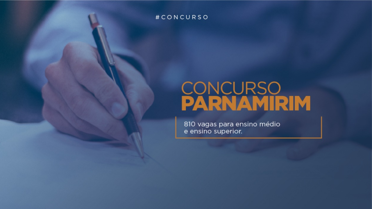 Prefeitura de Parnamirim RN edital de concurso público com 810 vagas para 2019 inscrições isenção vagas médio superior concursos no rn