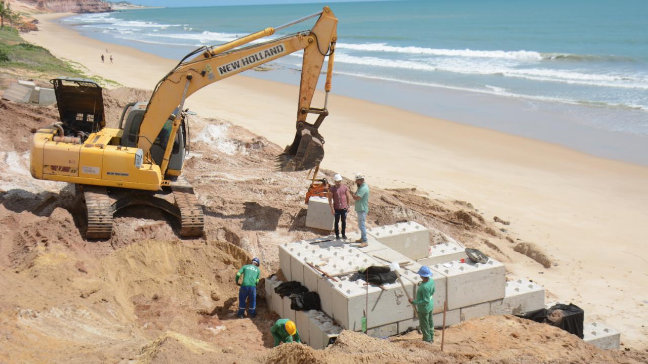 Parnamirim inicia obras de urbanização da praia de Cotovelo