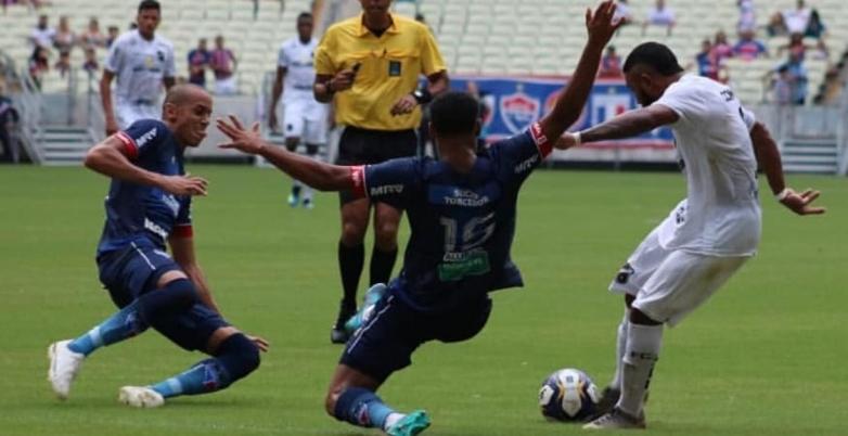 ABC perde na Arena Castelão e se despede da Copa do Nordeste