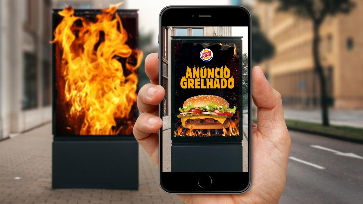 """Burger King dá Whopper de graça para quem """"tacar fogo"""" na concorrência"""
