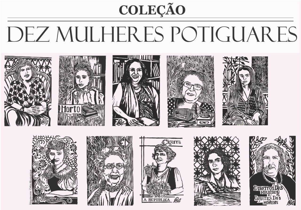 Casa do Cordel lança coleção em homenagem às mulheres