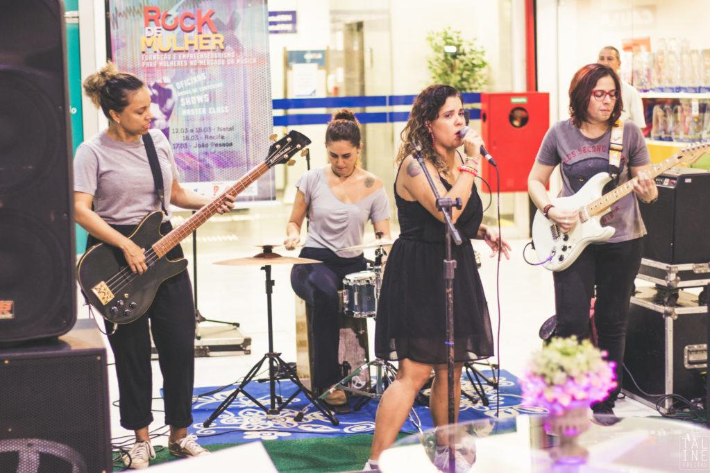 """Circuito """"Rock de Mulher"""" terá semana de atividades em Natal"""