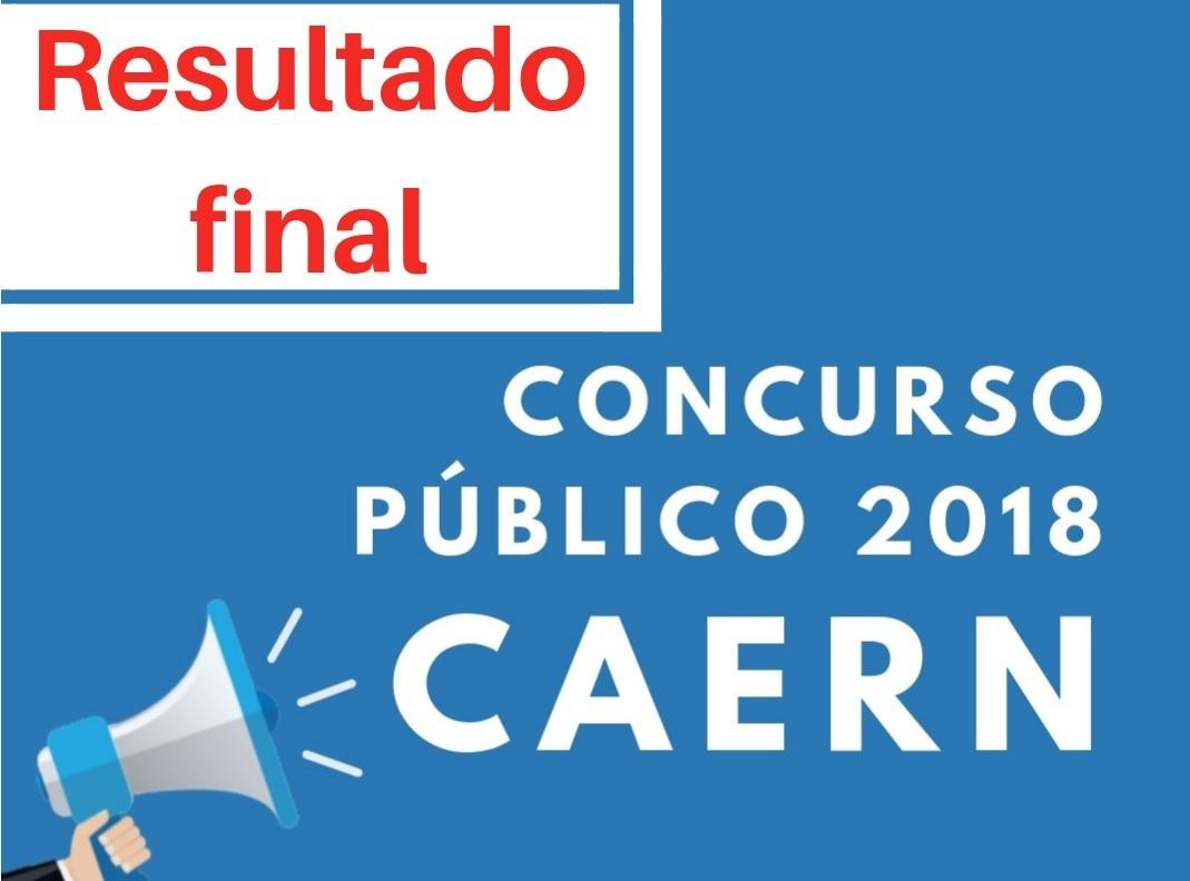Ibade divulga resultado final do concurso público realizado pela Caern
