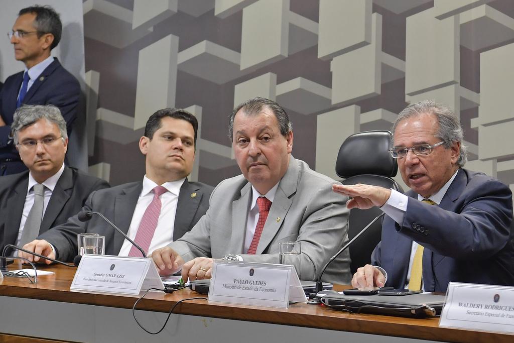 Paulo Guedes afirma que governo é o principal opositor à reforma da Previdência