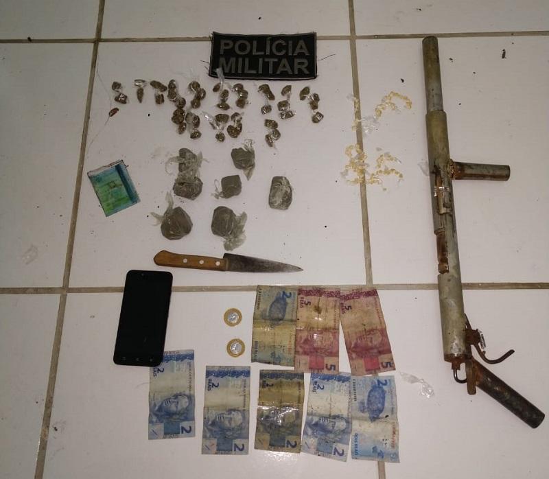 Polícia Militar combate tráfico de drogas em Ceará Mirim