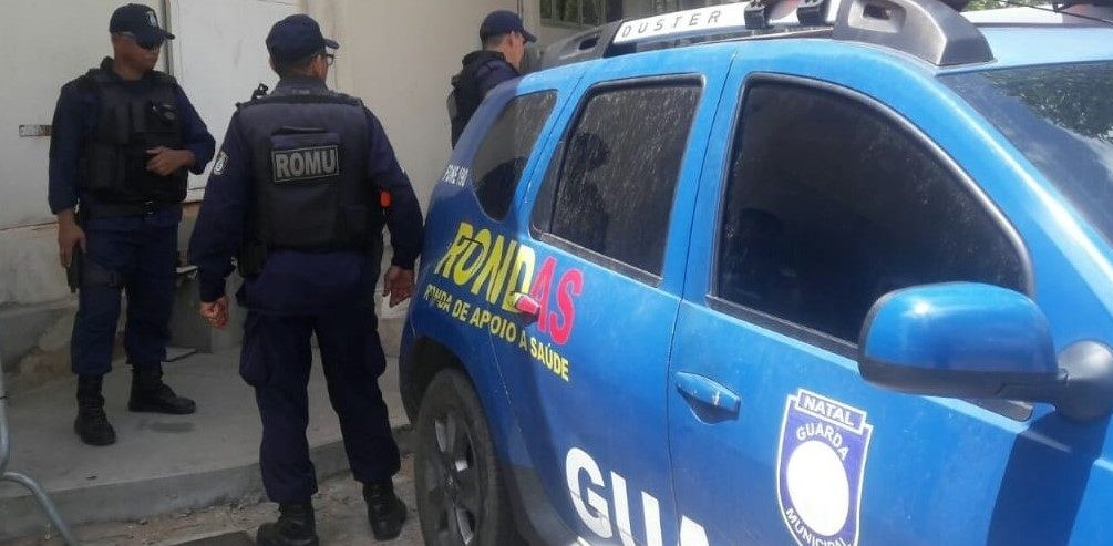 Guarda Municipal prende pai suspeito de espancar adolescente de 14 anos