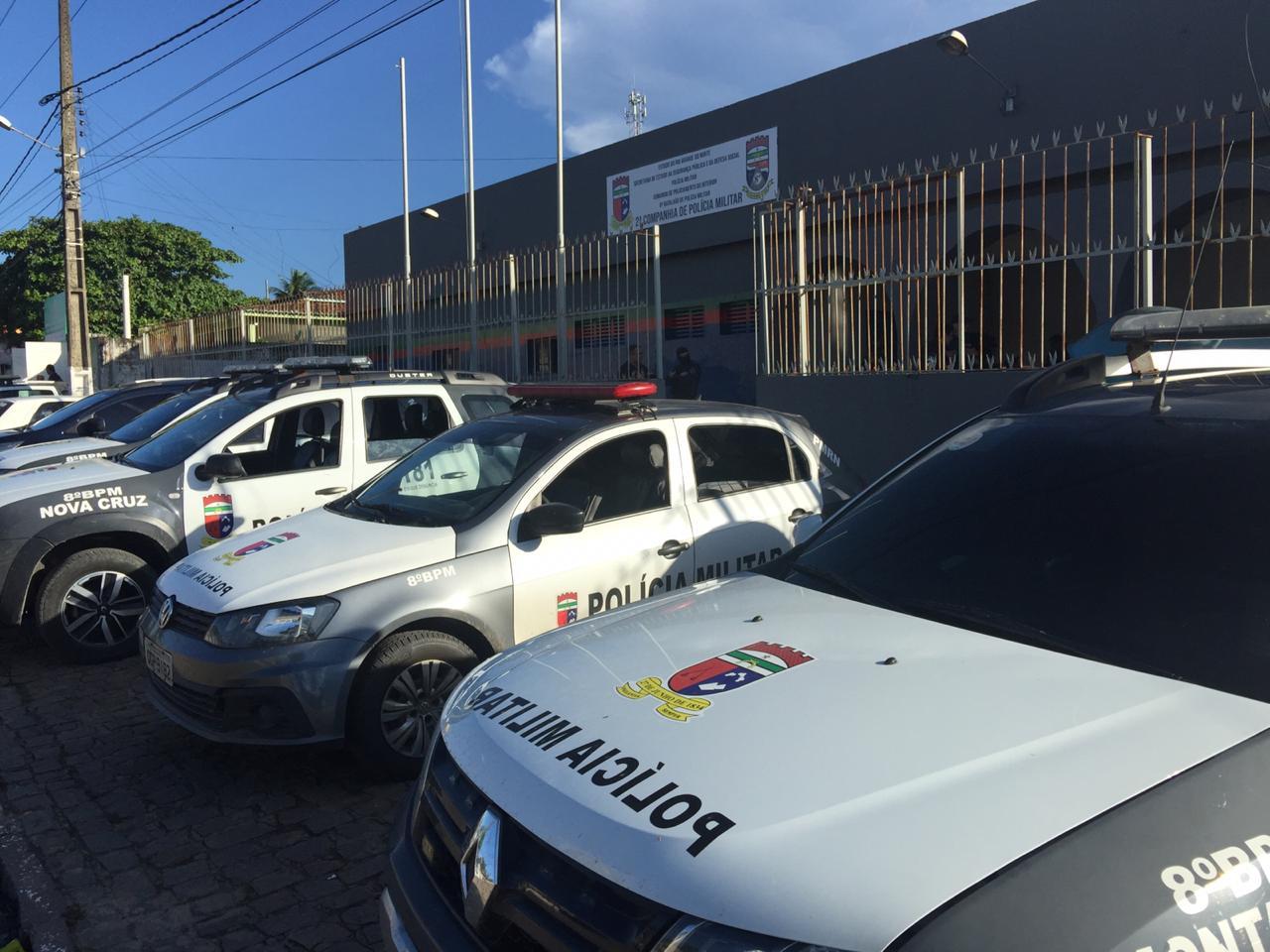 Operação combate homicídios e tráfico de drogas em Canguaretama