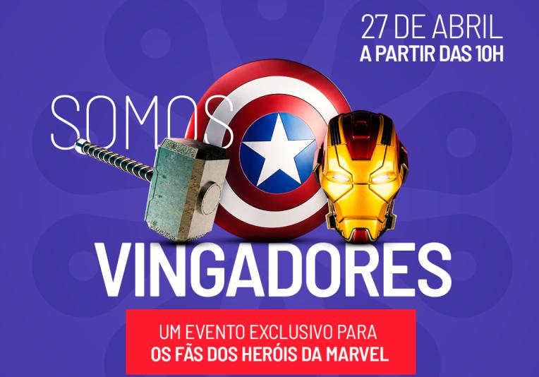 """Partage Norte Shopping recebe tarde temática dos """"Vingadores"""""""