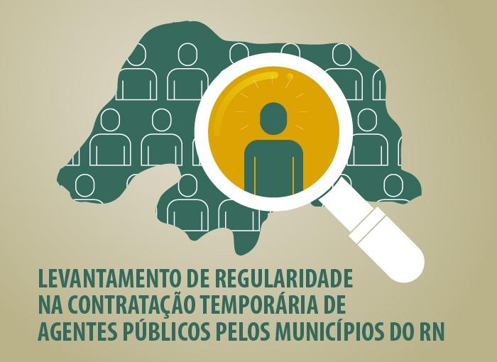 TCE aponta excesso de contratos temporários em prefeituras do RN