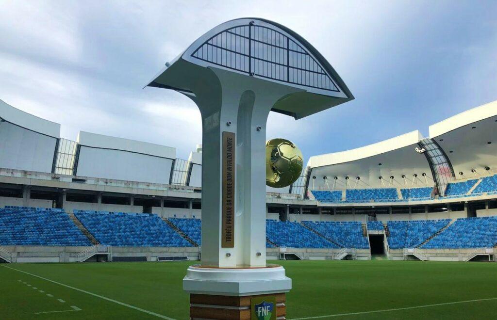 Troféu de campeão Potiguar 2019 homenageia Parque da Cidade