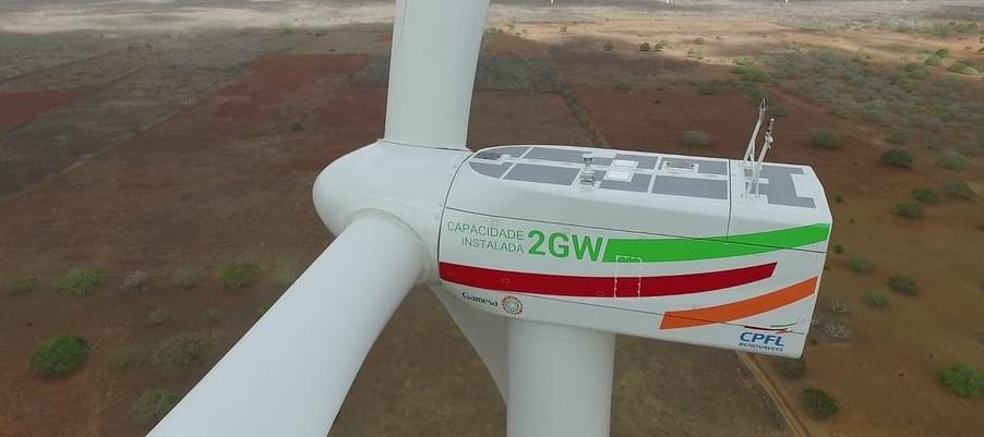 CPFL Renováveis irá investir R$ 350 milhões em 4 parques eólicos no município de Touros