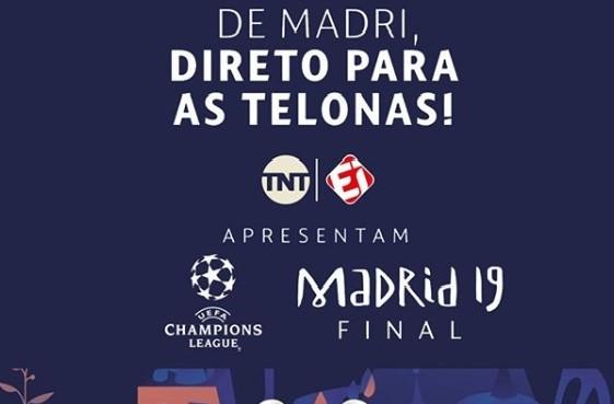 Natal Shopping transmite final da Champions League