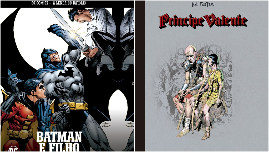 "O retrô ""Príncipe Valente"" e a ""Lenda do Batman"""