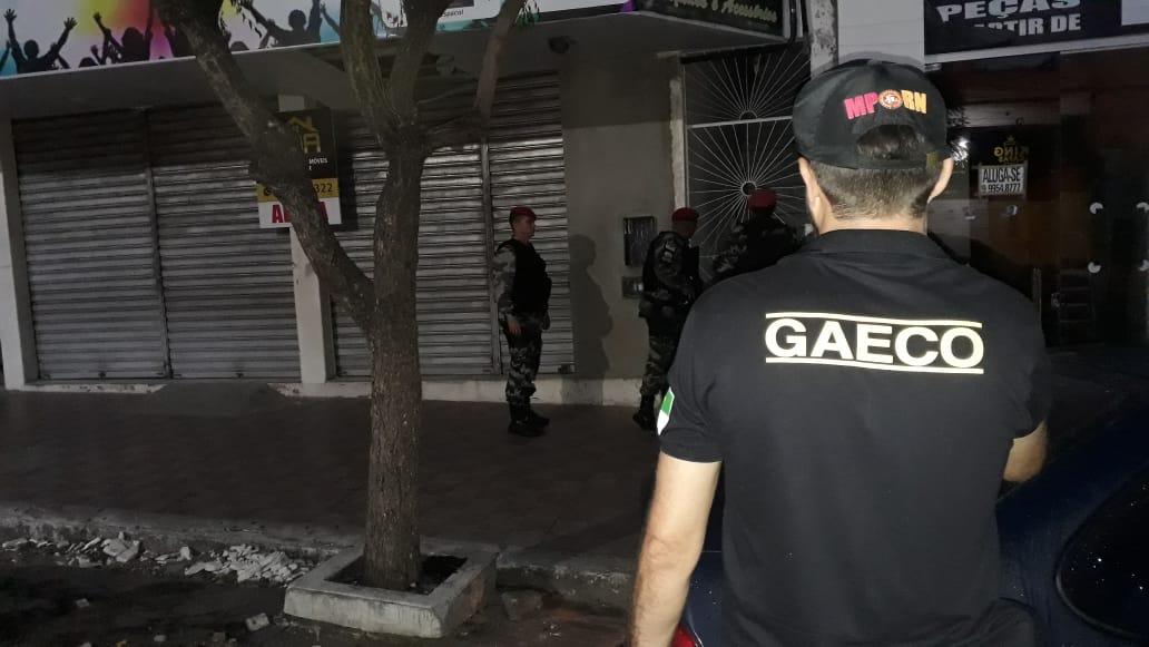 Ex-secretário e empresários são presos em Caicó durante operação do MPRN