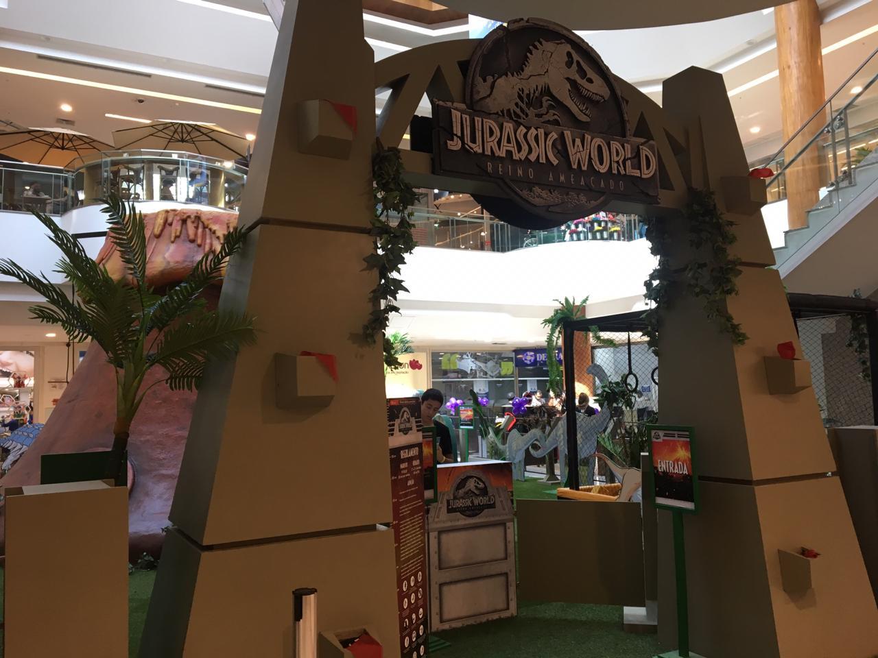 Parque do Jurassic World chega ao Natal Shopping