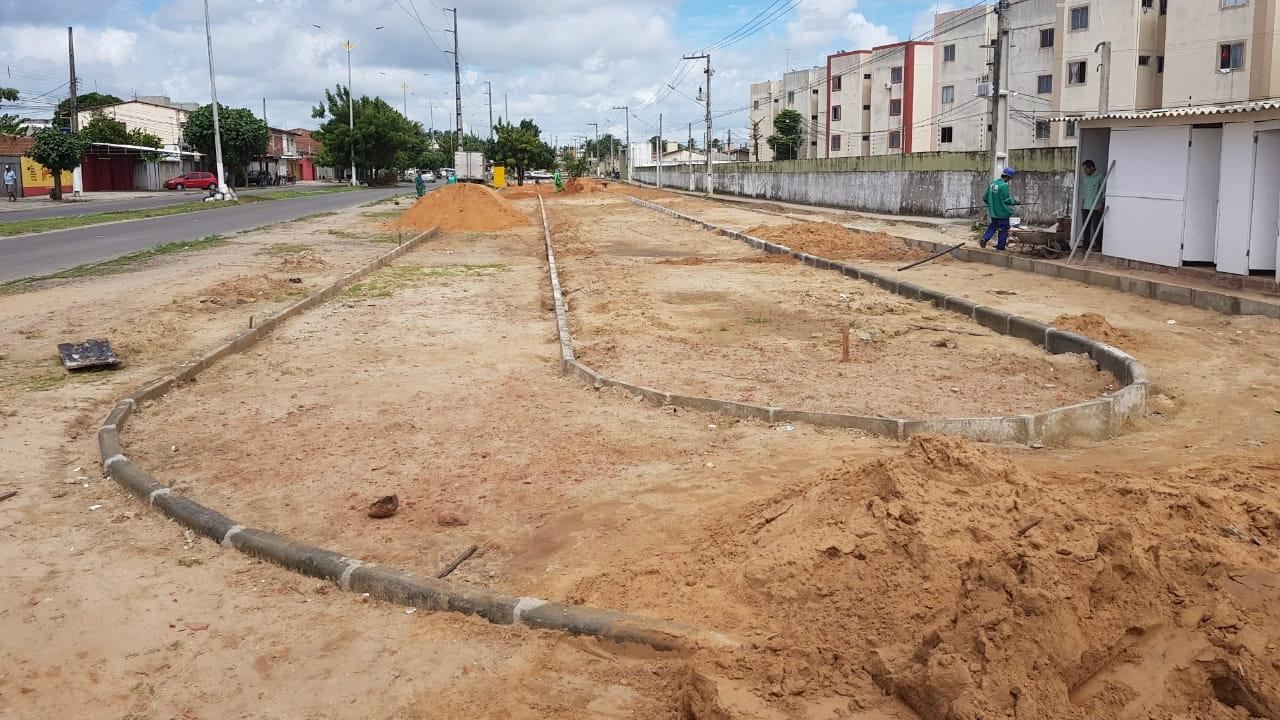 Obras do Caminhódromo de Monte Castelo são iniciadas