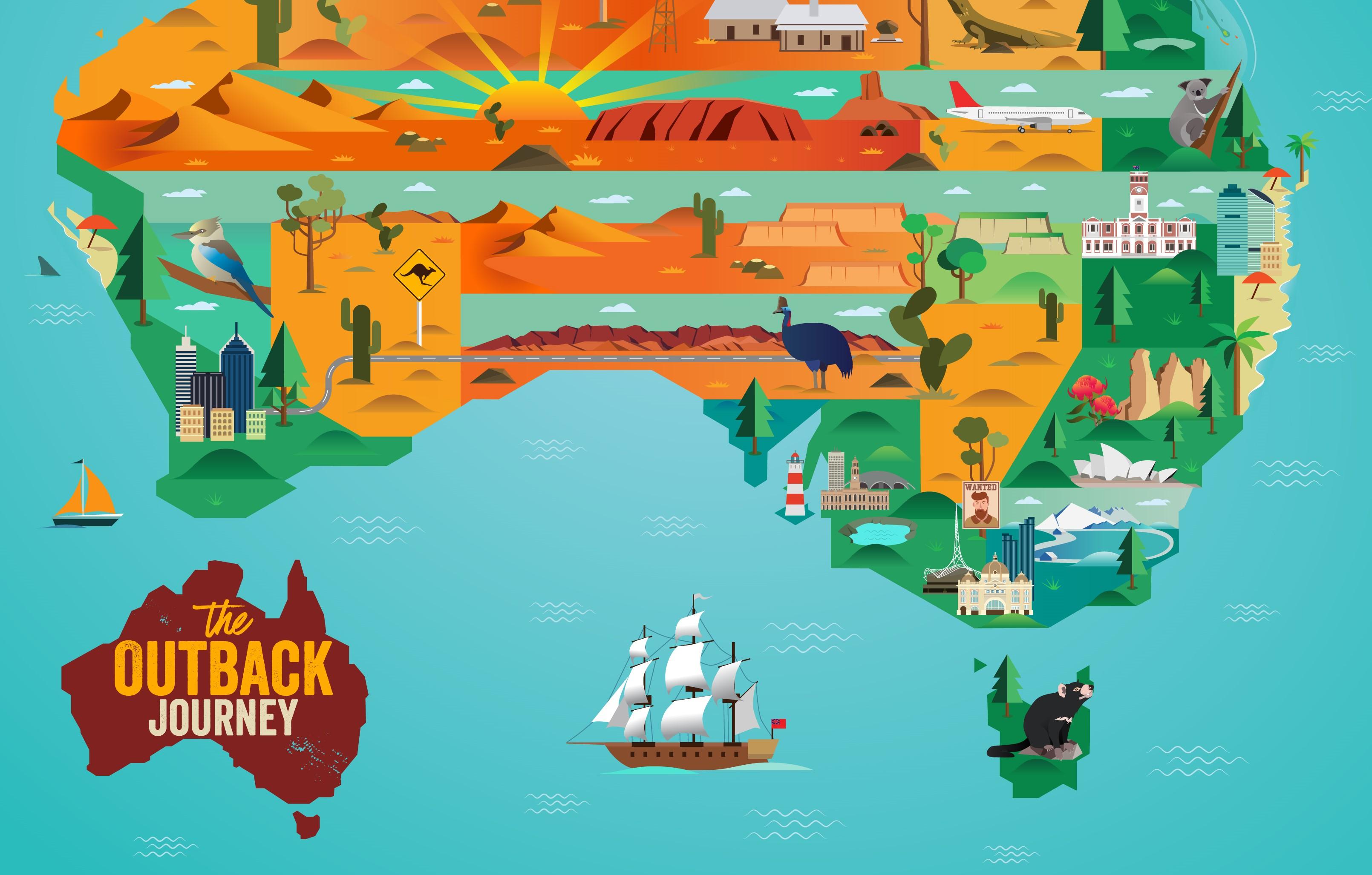 Outback leva fãs à uma jornada virtual em busca de prêmios