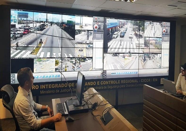 Sesed ativa Centro de Comando para acompanhar protesto em Natal