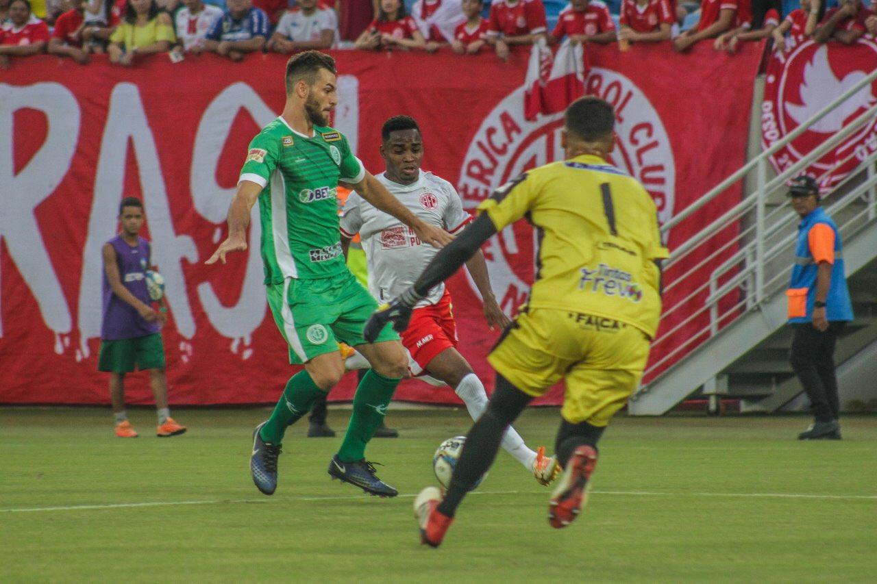 América-RN segue embalado e aplica 4 a 0 em jogo na Arena das Dunas