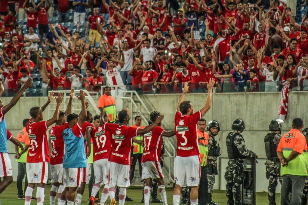 América-RN bate xará pernambucano e avança no Campeonato Brasileiro