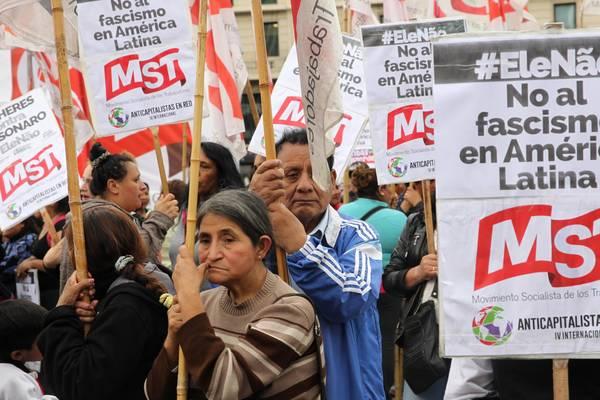 Argentinos convocam protesto contra visita de Jair Bolsonaro