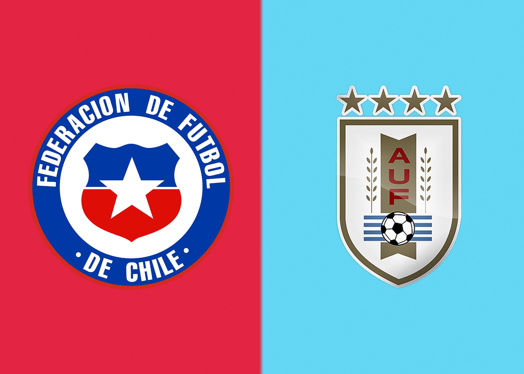 Chile x Uruguai ao vivo – onde assistir? escalações e mais