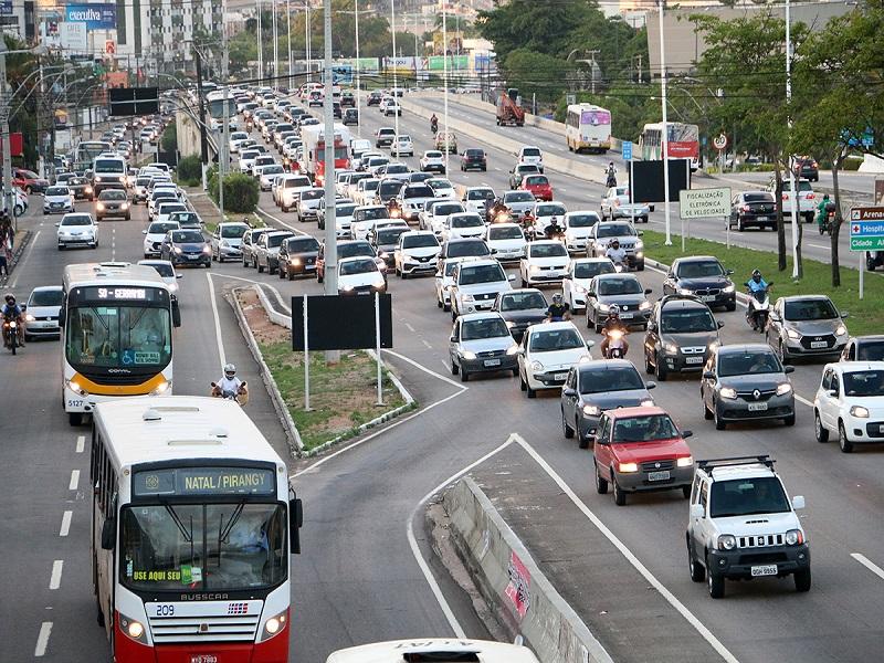 Frota de veículos no RN supera a marca de 1,3 milhão